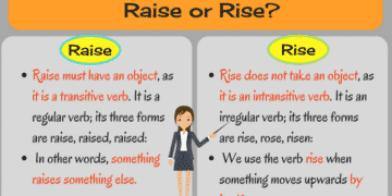 Confusing Words: Raise vs. Rise, Job vs. Work 12
