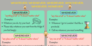 How to Use: Whatever, Whoever, Whenever, Wherever, Whichever and However 7