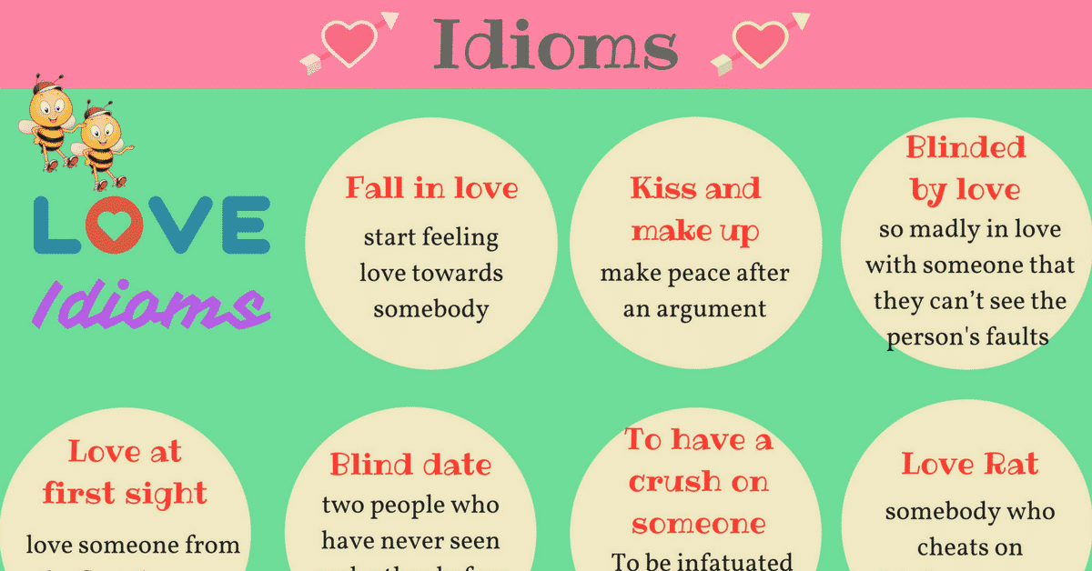 20 Fantastic Idioms about LOVE 15