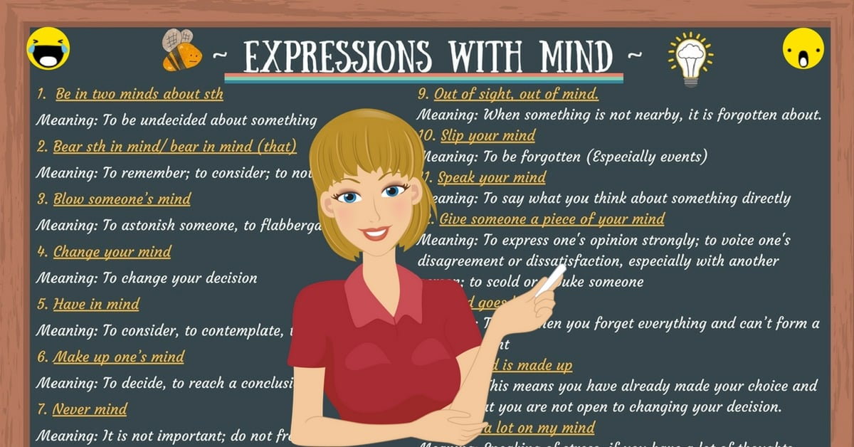 30+ Expressions with MIND in English 5
