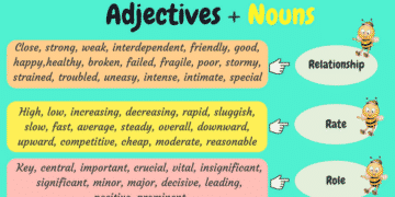Popular Adjective and Noun Collocations in English 3