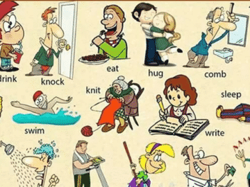 20+ Most Common Verbs in English 19