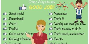 100 Ways to Say GOOD JOB in English 13