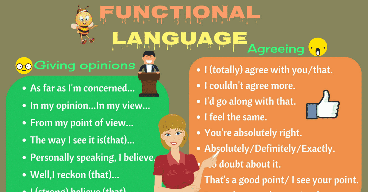 Functional Language: Useful English Phrases for Discussion and Debate 6