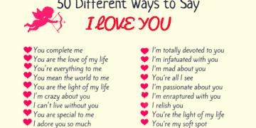 100+ Beautifully Romantic Ways To Say I LOVE YOU...! 7