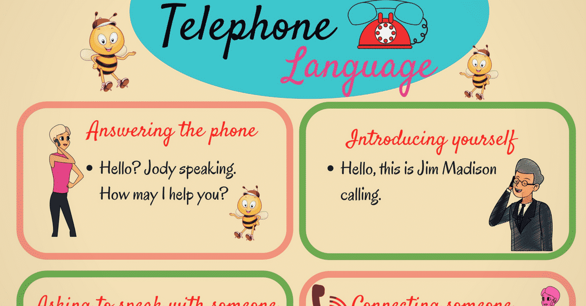 Most Commonly Used English Phrases on the Phone 4
