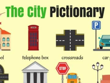 English Vocabulary: Places in the City 17