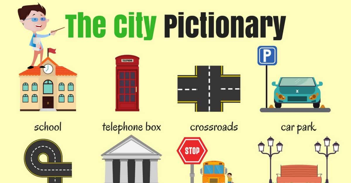 English Vocabulary: Places in the City 7