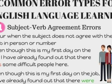 Common Mistakes in the English Language to Avoid 16