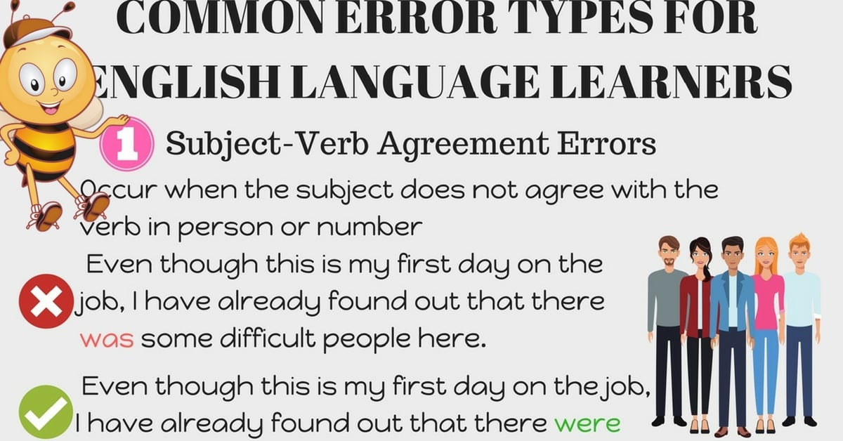 Common Mistakes in the English Language to Avoid 1