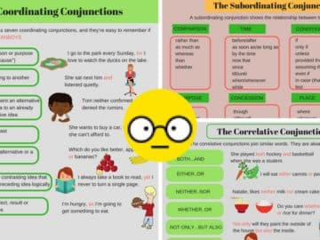 Types of Conjunctions: English Grammar Rules and Examples 14