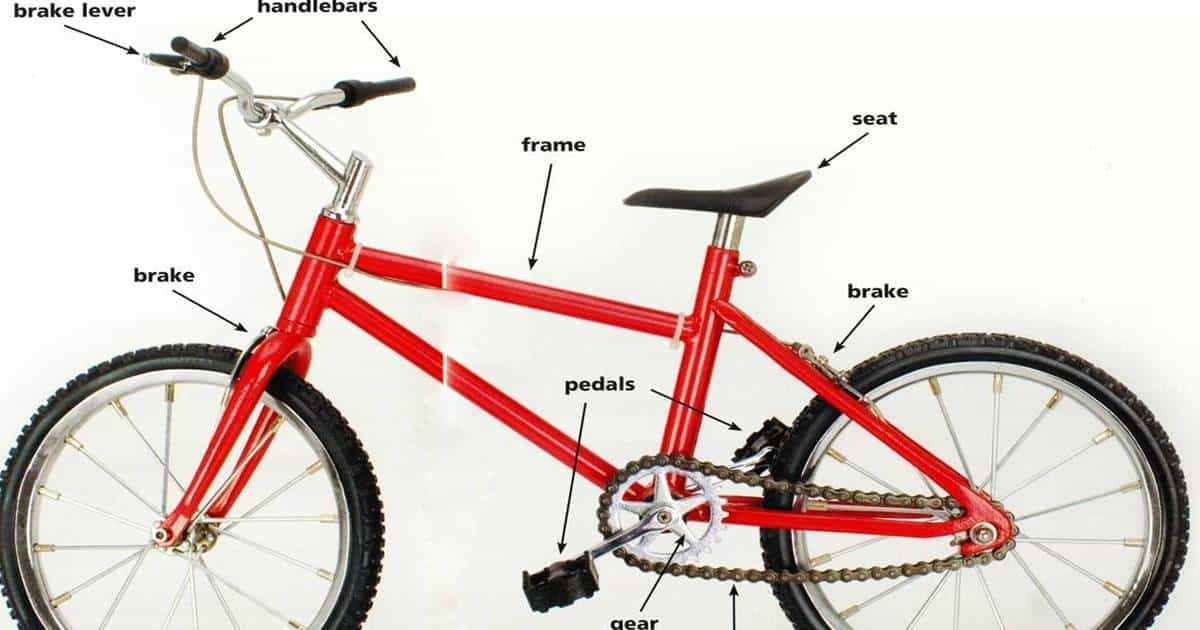 Parts of a Bicycle & Their Functions 6