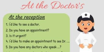 20+ Common English Phrases for the Doctor's Office 9