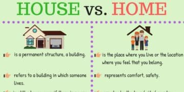 The Difference between A HOUSE and A HOME 1