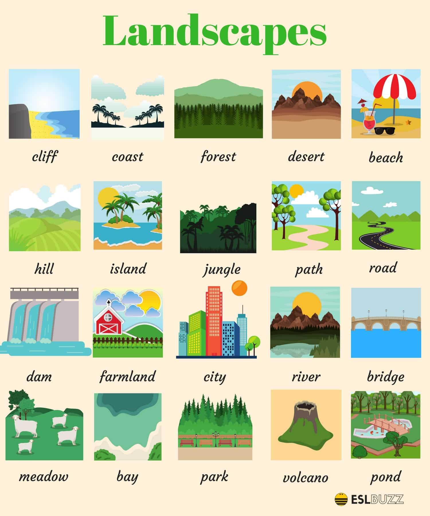 English Vocabulary: The Natural World