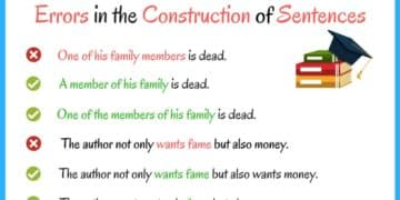 Common Errors in the Construction of Sentences 14