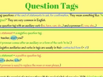Grammar: Question Tags in English 14