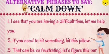 Different Ways to Say CALM DOWN in English 4
