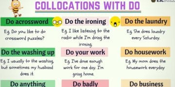 40+ Most Common Collocations with DO 2