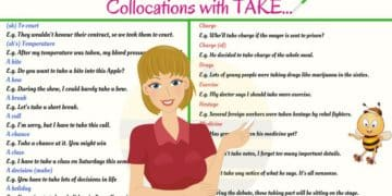 40+ Common English Collocations with TAKE 1
