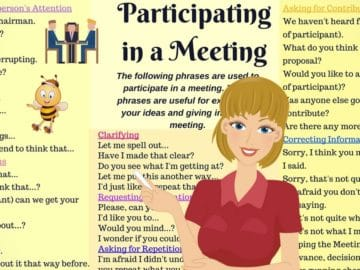 English for Business: Useful Phrases to Use During A Business Meeting 14