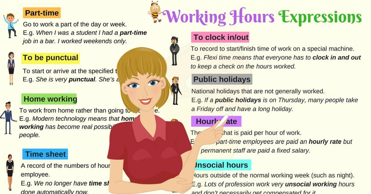 Useful Words and Phrases to Use at Work in English