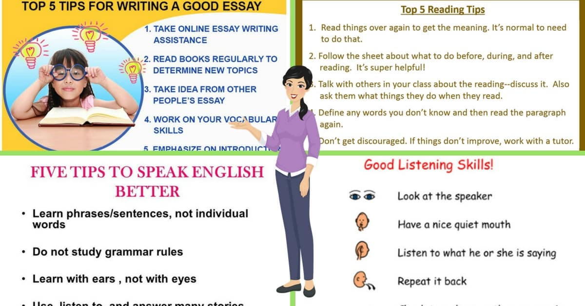 Top Tips for Improving Your English Language Skills