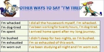 30+ Different Ways to Say I'm Tired 5