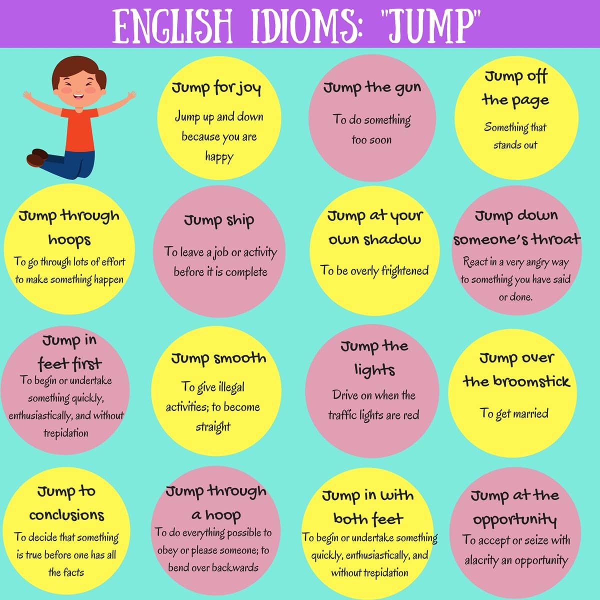 17 Useful Expressions with the Word JUMP in English
