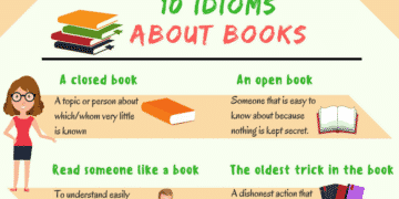 15+ Interesting Idioms about Books in English 1