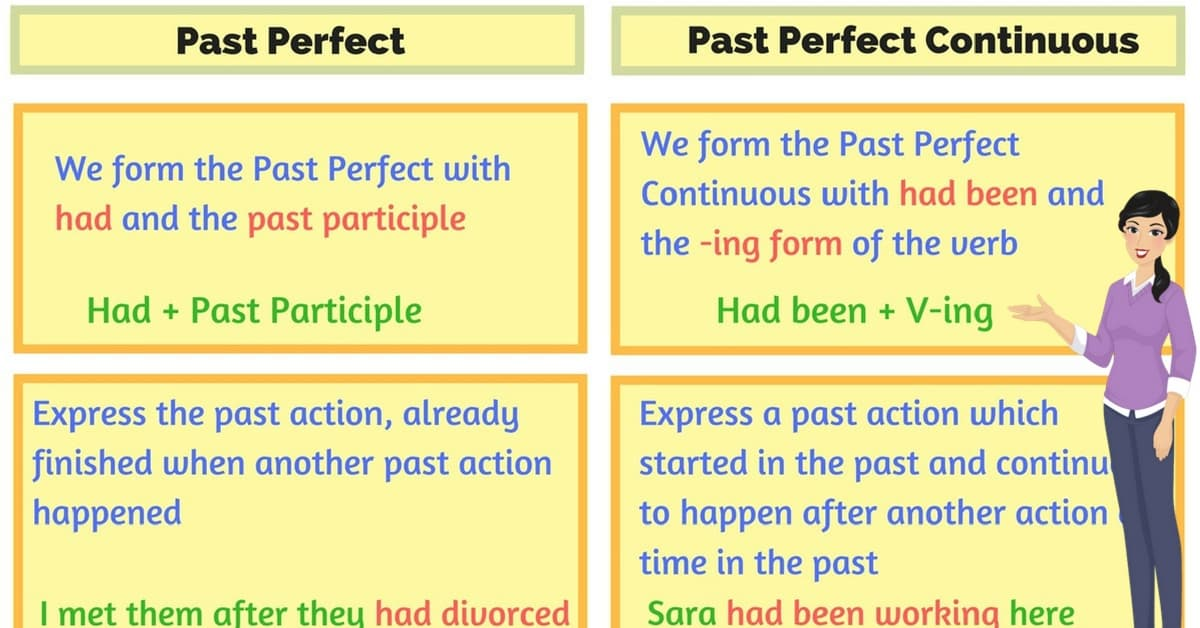 The Difference Between Past Perfect and Past Perfect Continuous 8