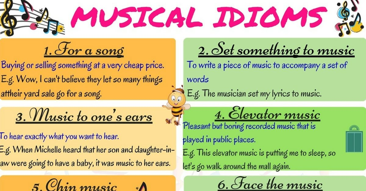 Learn 15+ Useful Idioms Related to Music in English 6