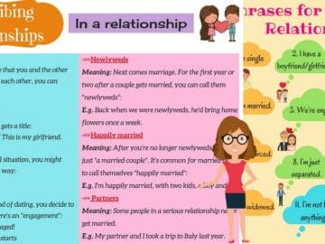 Useful Words and Phrases for Describing Relationships in English 14