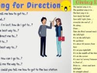 How to Ask for and Give Directions in English 14