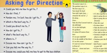 How to Ask for and Give Directions in English 18