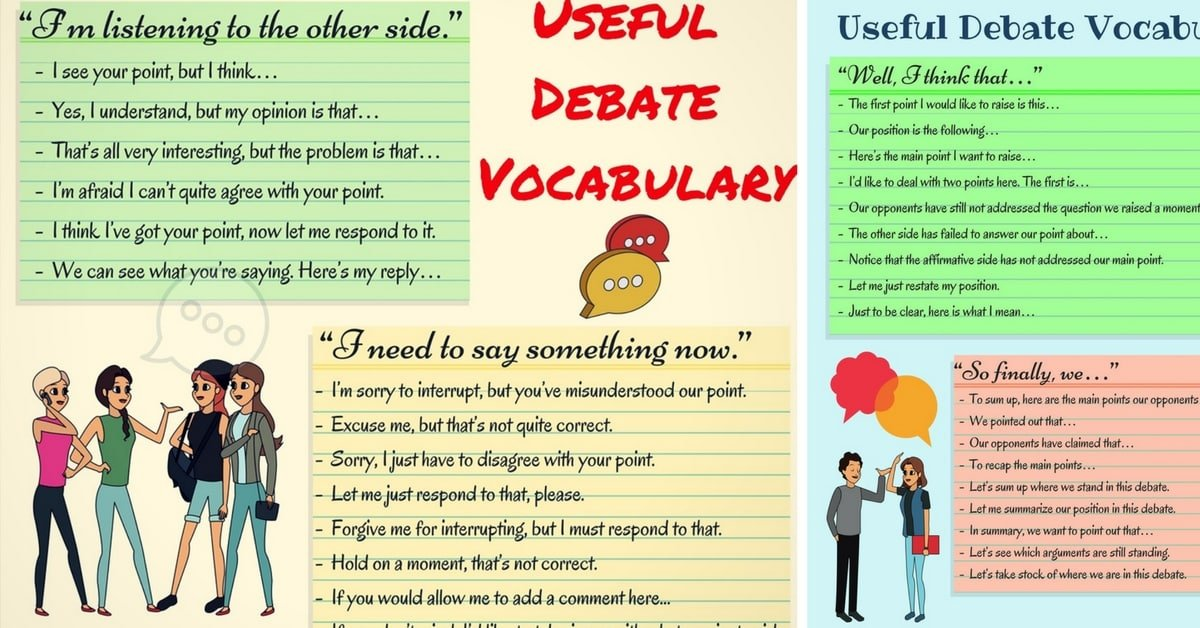 Useful English Expressions for Debate and Group Discussion 3