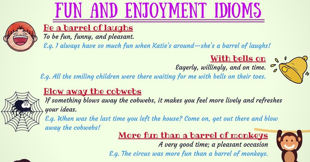 15+ Useful Idioms about Happiness in English 7