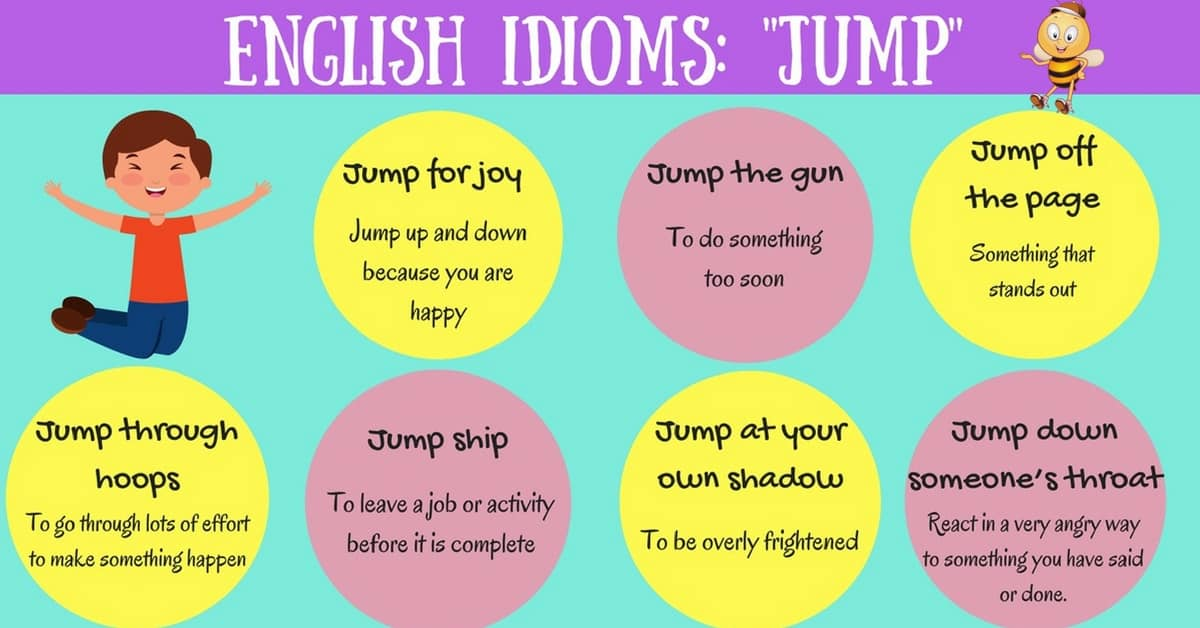 17 Useful Expressions with the Word JUMP in English 14