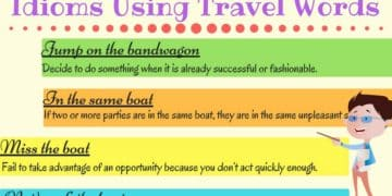 Common Idioms about Transport and Travel 1