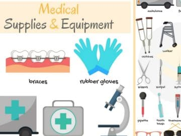 Medical Supplies and Equipment Vocabulary in English 15