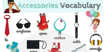 Accessories Vocabulary in English 2