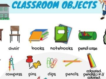 Classroom Objects in English 17