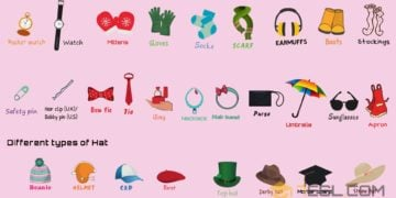 [Video] Accessories Vocabulary in English 14