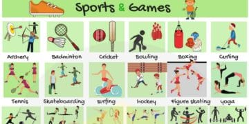 Learn English Vocabulary for Sports and Games 8