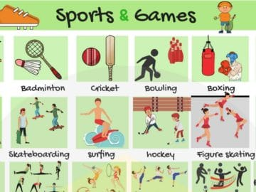 Learn English Vocabulary for Sports and Games 22