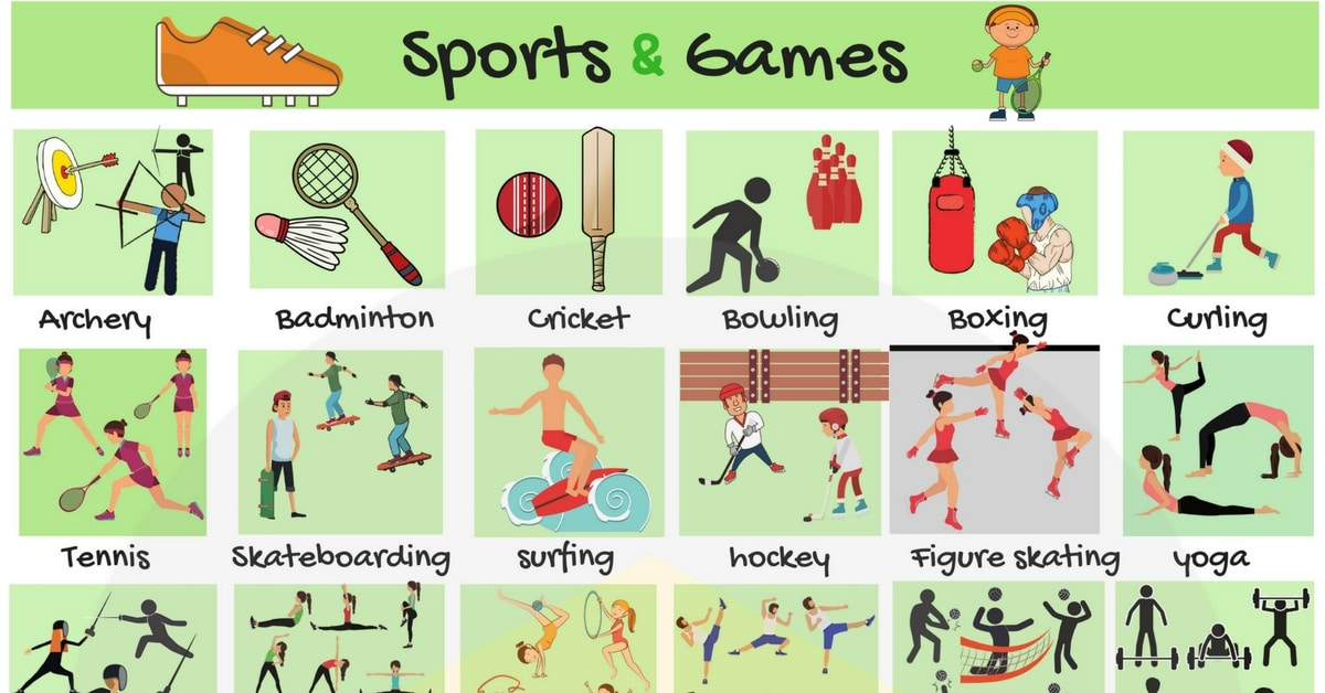 Learn English Vocabulary for Sports and Games 13