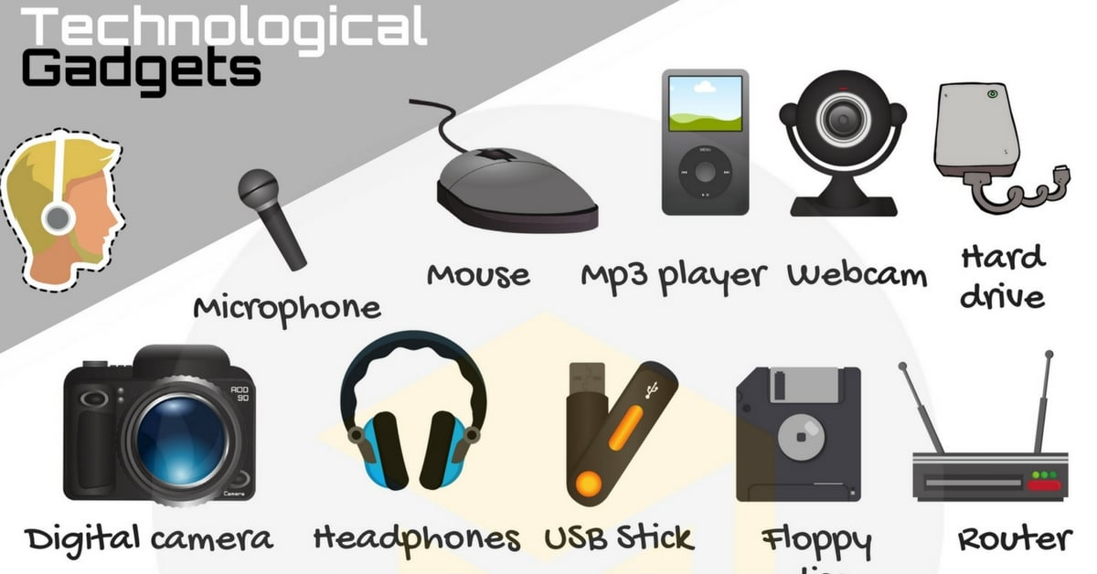 Technological Gadgets Vocabulary in English 3