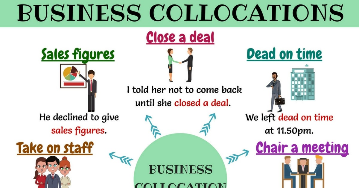 Business Collocations: List of Commonly Used Collocations in Business 3