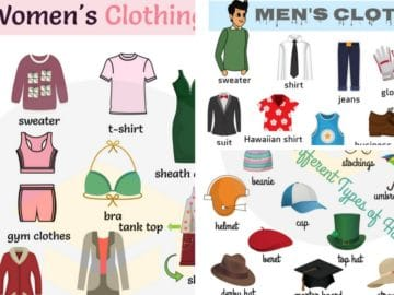 Clothes Vocabulary: Learn Clothes Name with Pictures 22