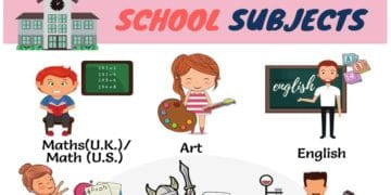 Learn English Vocabulary for School Subjects 4